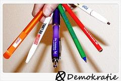 ツ Some look at this picture and see pencils......