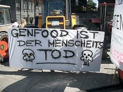 Demo gegen Gentechnik in Ulm