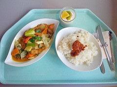 Geflügel mit Gemüse & Kokos / chicken with veg...