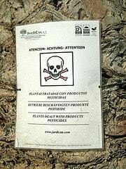 Beschäftigte Pestizide