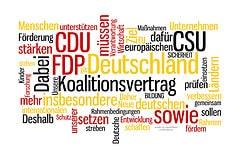 Koalitionsvertrag CDU CSU FDP