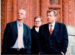 Eberhard Diepgen, Staatsbesuch Lennart Meri 2000