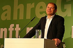 Olaf Scholz, stellvertretender Bundesvorsitzen...