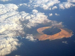 Vulkan vor Lanzarote