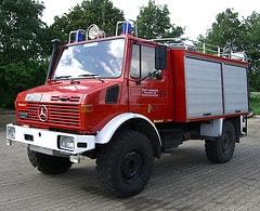 Fotoprojekt Unimog und Feuerwehr: TLF 8/18 der...