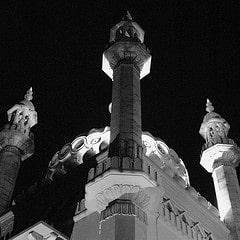 pavilion minarettes
