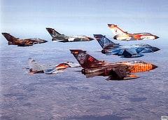 German Tornado Formation Flight 2003