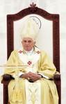 AMMAN, JORDAN - MAY 10:  Pope Benedict XVI cel...