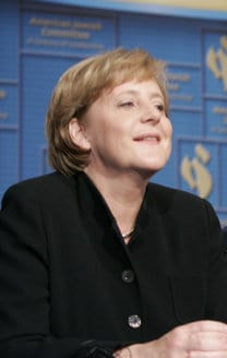Chancellor Angela Merkel during the American J...