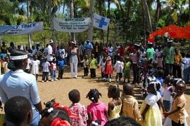 Leogan Kinderzentrum Erdbeben Haiti 04/210