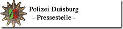 Polizei Presse Duisburg
