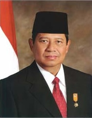 Portrait of Susilo Bambang Yudhoyono