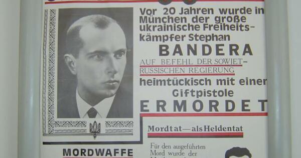 Plakat aus dem Jahr 1979 im Museum Stary Uhryniw.