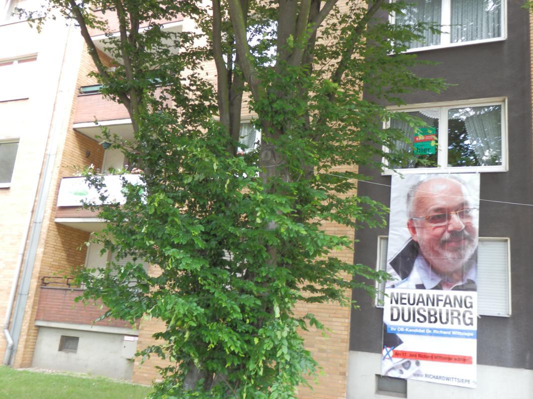 Immeo verbietet Wahlplakate der Mieter der Duisburger ...