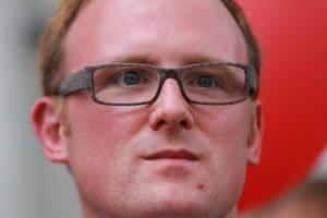 Duisburgs OB Sören Link - in Flüchtlingsfragen nicht zu sprechen