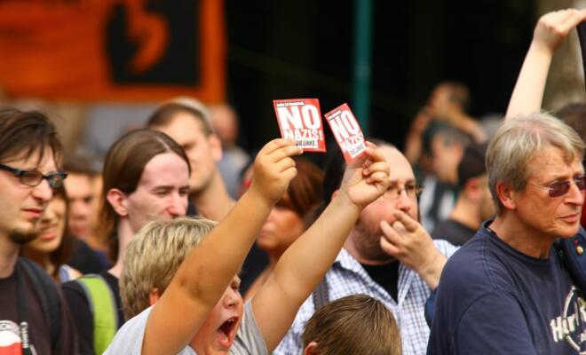 Bürgerschaftliches Engagement: Nazis verpisst Euch, niemand vermisst Euch
