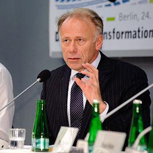 Jürgen Trittin, Fraktionsvorsitzender B90/Die Grünen; Foto: Stephan Roehl (Photo credit: Wikipedia)