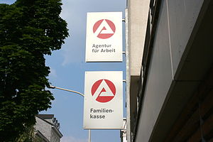 Deutsch: Agentur für Arbeit, Hünefeldstraße in Wuppertal (Photo credit: Wikipedia)