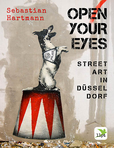 Das Cover zu OPEN YOUR EYES von Sebastian Hartmann