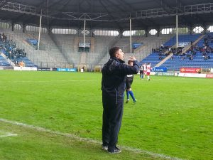 SVW-Coach Kocak gehört in der Regionalliga Südwest zu den engagierten Trainern an der Seitenlinie