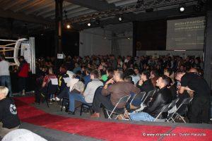 Die alte Seilerei in Mannheim-Neckarau war mit 700 Zuschauern ausverkauft. Die anweseden Zuschauer sorgten für eine unvergessliche Stimmung.