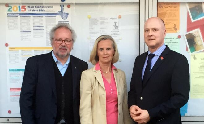 (v.l.): Peter Dahmen, Marlies Fischell und Martin Sprung.