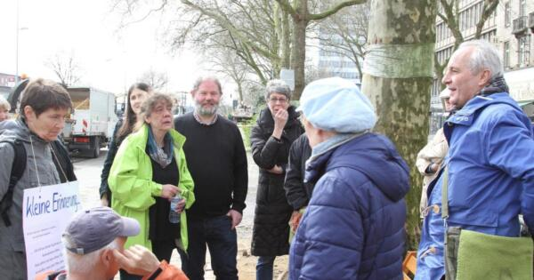 Duisburger Platanen-Aktivisten