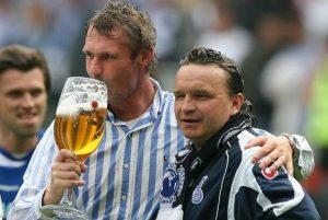 Rudi Bommer mit seinem ehemaligen Co Heiko Scholz