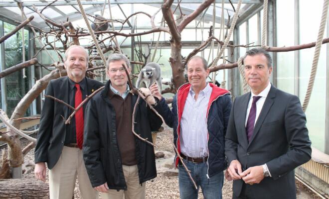 Rainer Bischoff, Achim Winkler, Jörg Bunert und Jochen Braun