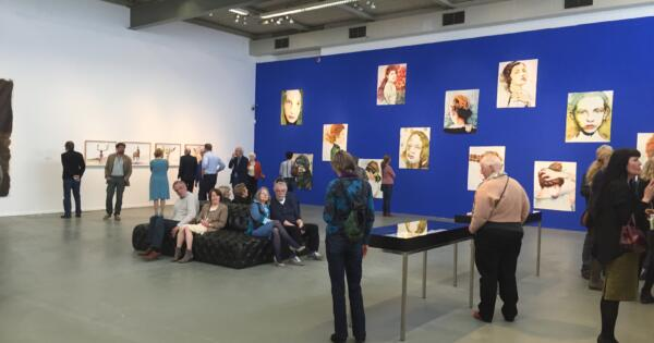 Cornelia Schleime, Aus der Reihe: See you (696), 2015, Aquarell auf Bütten, courtesy Livingstone gallery The Hague / Galerie Michael Schultz Berlin