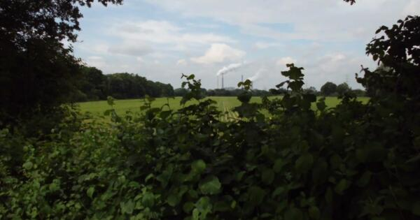 Bauernland mit Kraftwerkstürmen im Norden - (c) Reinhard Matern