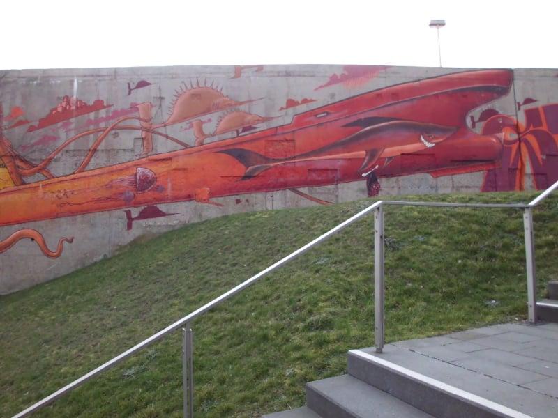 Rheinpark - Wasserungeheuer 2 (c) Reinhard Matern