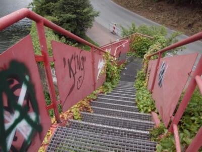 Königsweg von der Fußgängerbrücke - (c) Reinhard Matern