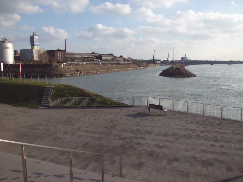 Einfahrt Kulturhafen (c) Reinhard Matern