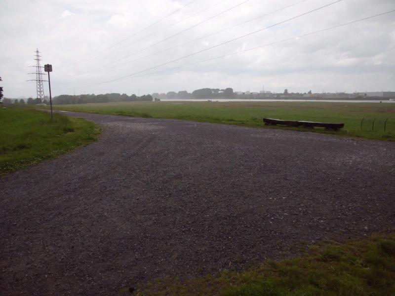 Rheinblick 3 im begonnen Regen - (c) Reinhard Matern