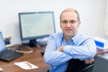 Prof. Dr. Lucas Davi, Foto: UDE/Frank Preuß
