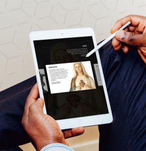 Exponate digital teilen: interaktive iPad-Anwendung mit 3D-Funktion