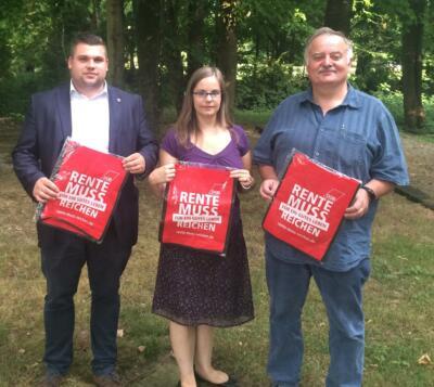 v.l.nr.: Marvin Kuenen, Karina Pfau und Alexander Lazarevic