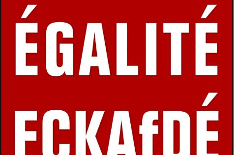 Wahlplakat der PARTEI NRW.