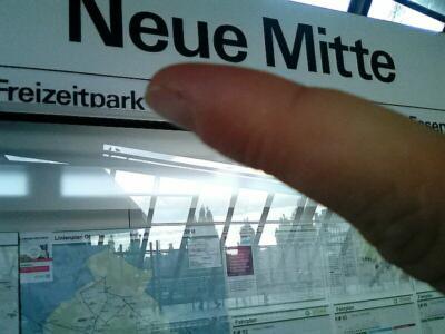 Schluss mit Neuer Mitte: In den Arbeitenvierteln des nördlichen Ruhrgebiets erlitt die SPD ihre herbsten Stimmverluste, viele wählten stattdessen die rechtsradikale AfD. (Foto: CentrO Oberhausen)