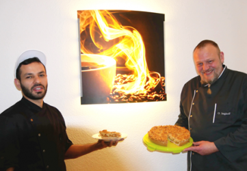 Yamen Kadour und Oliver Jerghoff (Foto: Projekt LebensWert)