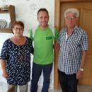 Novitas BKK-Mitarbeiter Julian van Delen beim Hausbesuch im Kreis Steinburg – dort ging das Projekt in die Testphase